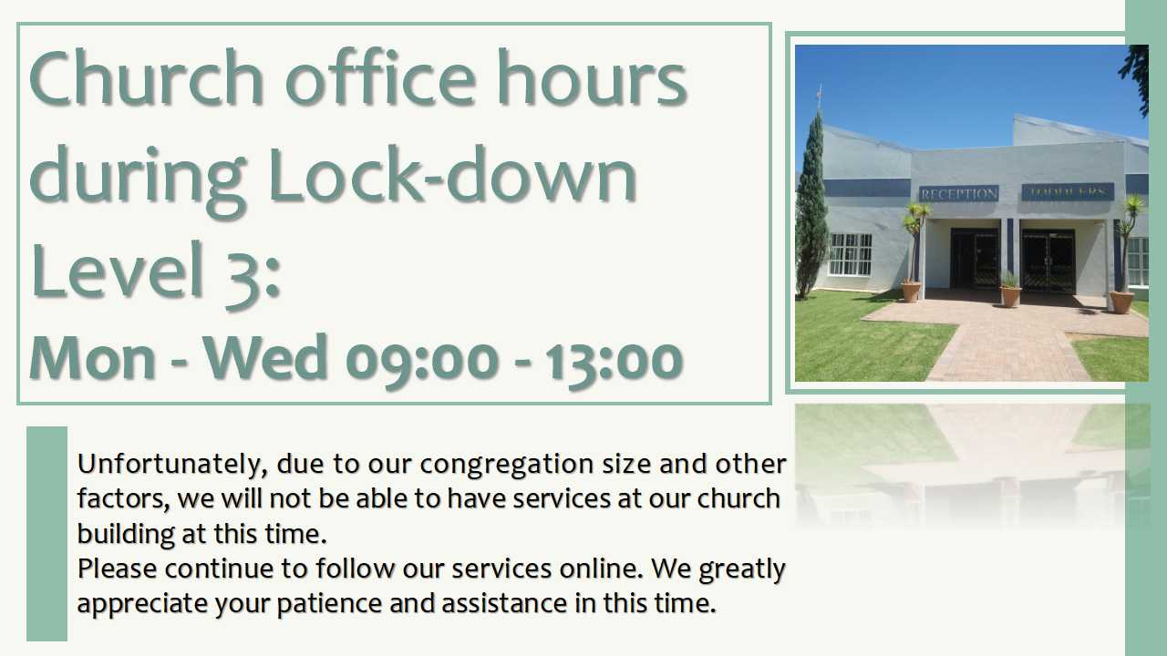 office hours June 2020
