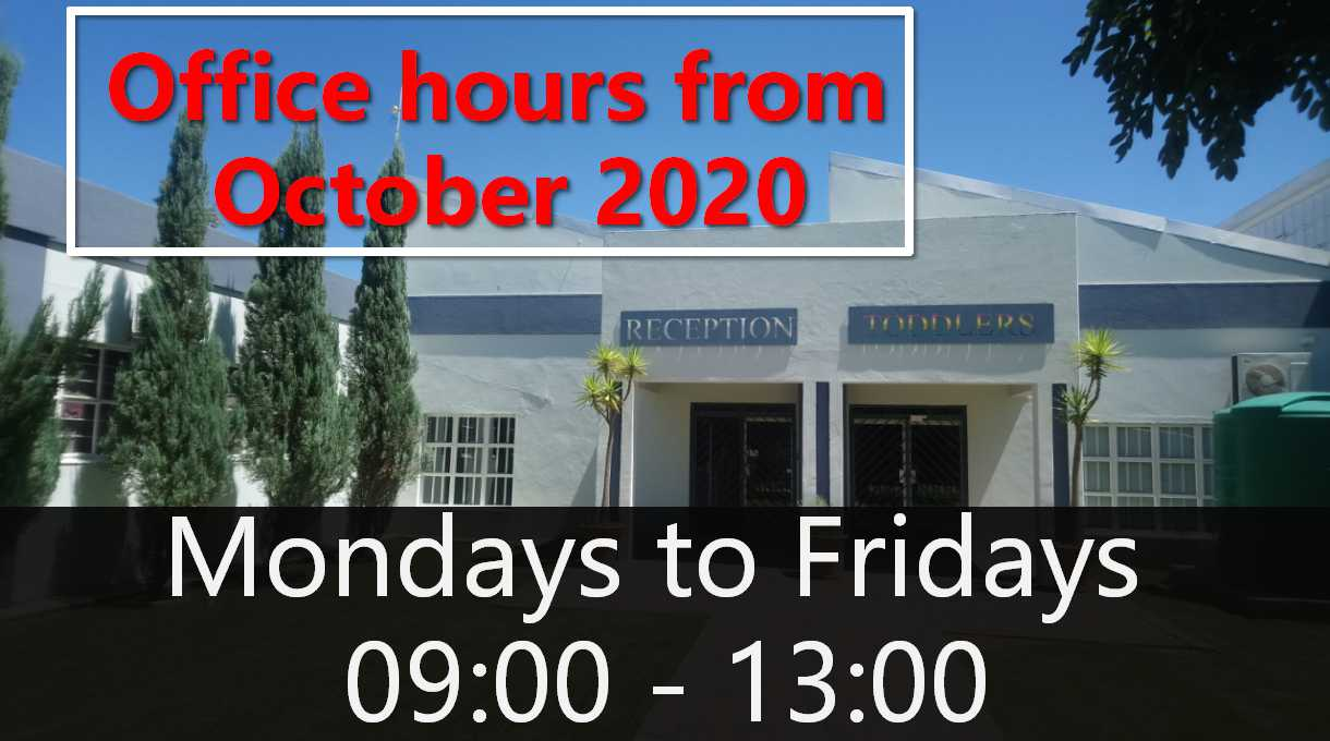office times october 2020